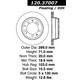 Tarcze nawiercane StopTech Sport 128.37007L/R (tył)