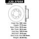 Tarcze nawiercane StopTech Sport OE Style 128.37058/59 (przód)