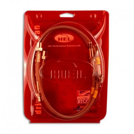 Przewody hamulcowe w oplocie HEL Performance AUD-4-120