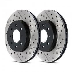 Tarcze nawiercano-nacinane StopTech Sport 127.45072L/R (tył)