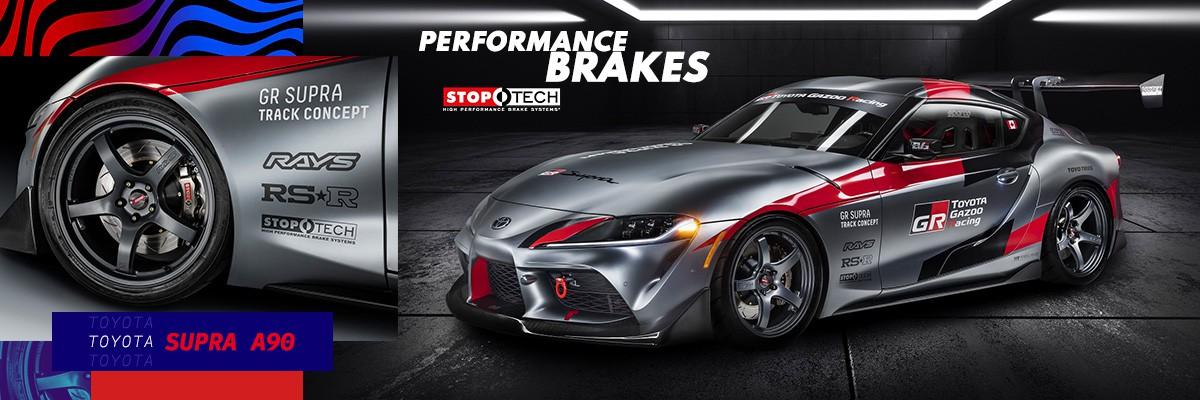 Toyota Supra Performance Brakes