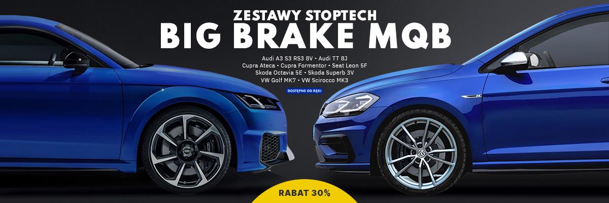 Zestawy StopTech Big Brake do VW MQB - dostępne od ręki z 30% rabatem!